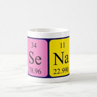Sena periodic table name mug