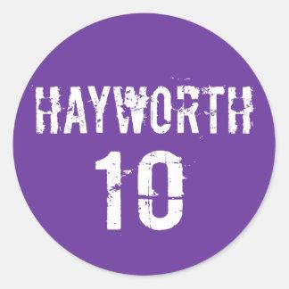 Senado 2010 de JD Hayworth Etiqueta Redonda