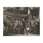Senado de Estados Unidos 1850 Lona Estirada Galerías