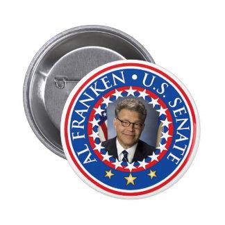 Senado de Franken los E.E.U.U. del Al Pin Redondo De 2 Pulgadas
