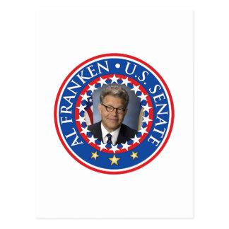 Senado de Franken los E.E.U.U. del Al Postal