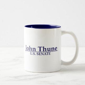 Senado de Juan Thune los E.E.U.U. Taza De Dos Tonos