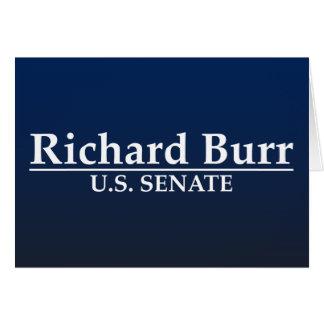 Senado de los E.E.U.U. de las rebabas de Richard Tarjeta De Felicitación