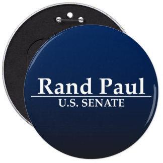 Senado de Paul los E.E.U.U. del rand Pin Redondo De 6 Pulgadas