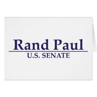 Senado de Paul los E.E.U.U. del rand Tarjeta De Felicitación