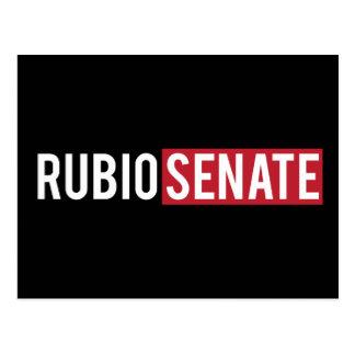 Senado de Rubio Tarjetas Postales