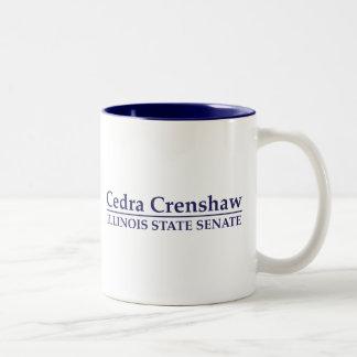 Senado del estado de Cedra Crenshaw Illinois Taza De Café