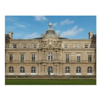 Senado francés París Francia del palacio de Tarjeta Postal