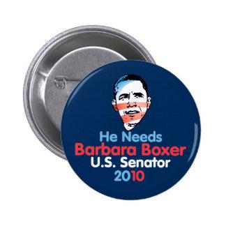 Senador 2010 del boxeador Button Pin