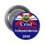 Senador Button de CRIST Pin