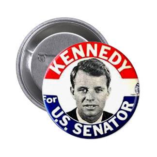 Senador de RFK - botón Pin Redondo De 2 Pulgadas