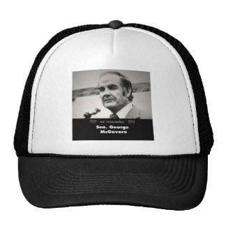Senador George McGovern 1922-2012 Gorras