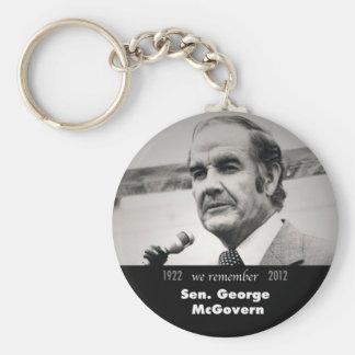 Senador George McGovern 1922-2012 Llaveros