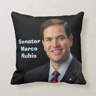 Senador Marco Rubio 2016 - vea ambos lados Cojín