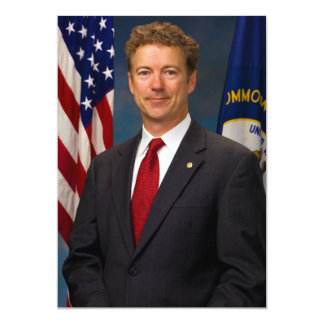 Senador oficial Rand Paul Portrait de Kentucky Comunicado Personalizado