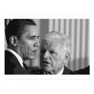 "Senador ""peluche"" Edward Kennedy Postal"