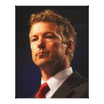 Senador Rand Paul Profile Portrait Impresion En Lona