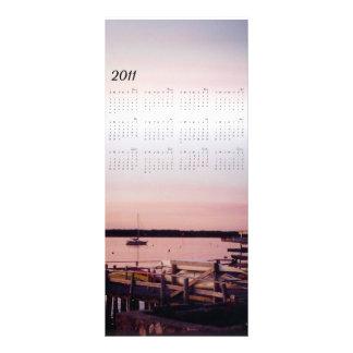 señal 2011 de la ensenada de la puesta del sol lonas