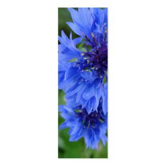 Señal azul del Cornflower Tarjeta De Visita
