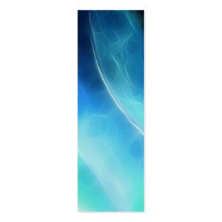 Señal azul del planeta tarjetas de visita mini