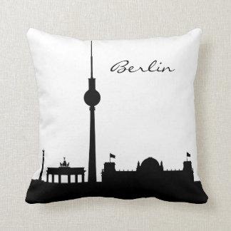 Señal blanco y negro de Berlín Cojín