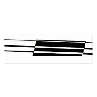 Señal blanco y negro del arte abstracto