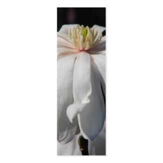 Señal bonita del Centennial de la magnolia Tarjetas De Visita Mini