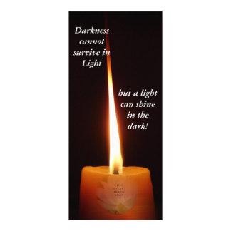 Señal budista del SGI con la vela de Lotus y NMRK Diseño De Tarjeta Publicitaria