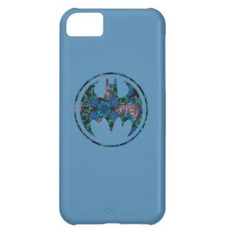 Señal color de rosa azul del palo carcasa para iPhone 5C