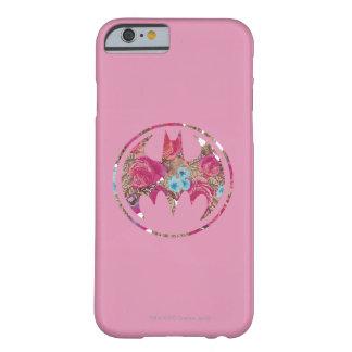 Señal color de rosa rosada del palo funda para iPhone 6 barely there