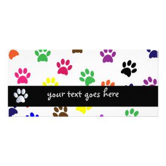 Señal colorida del personalizado de la diversión d tarjeta publicitaria