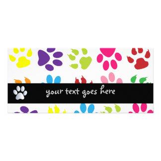 Señal colorida del personalizado de la diversión diseño de tarjeta publicitaria