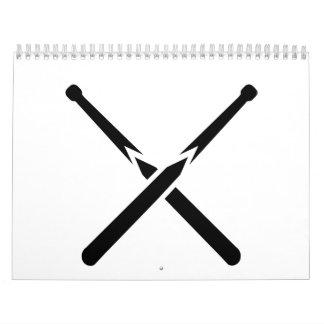 Señal cruzada billares calendarios de pared