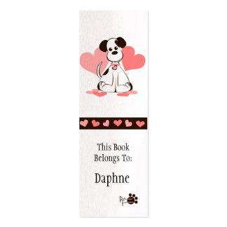 Señal de Daphne Tarjetas De Visita Mini