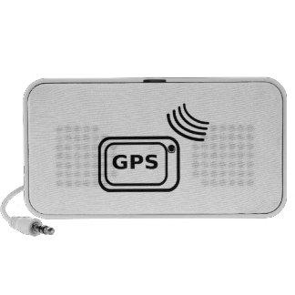 Señal de GPS iPod Altavoces