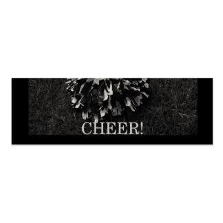 señal de la alegría tarjetas de visita mini
