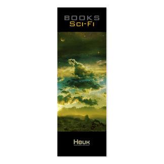 Señal de la ciencia ficción tarjetas de visita mini