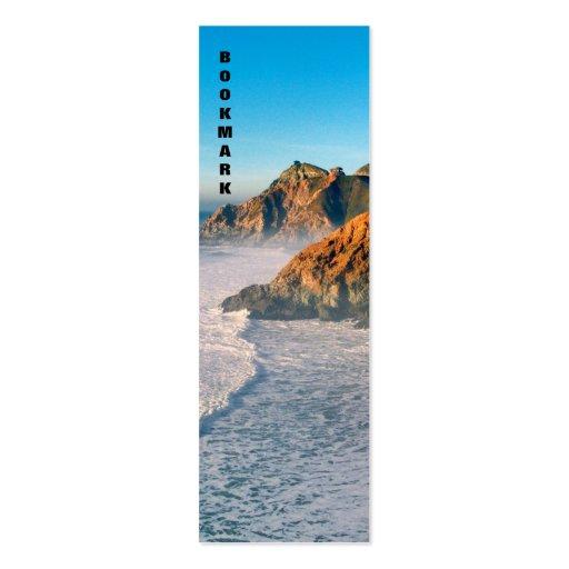 Señal de la diapositiva del diablo tarjetas de visita mini