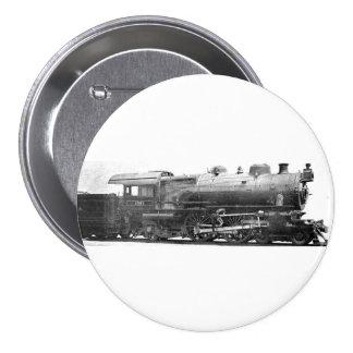 Señal de la fotografía del ferrocarril del vintage pin