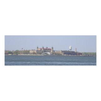 Señal de la Isla-NYC de Ellis Tarjetas De Visita Mini