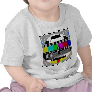 Señal de la prueba de PAL TV Camiseta