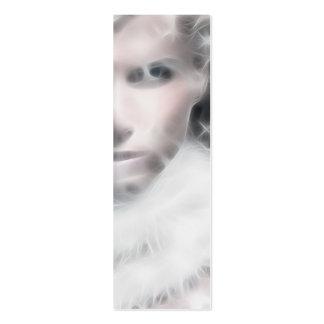 Señal de la reina del invierno tarjetas de visita mini