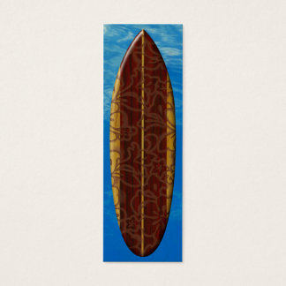 Señal de la tabla hawaiana de Pupukea Pareau Tarjetas De Visita Mini
