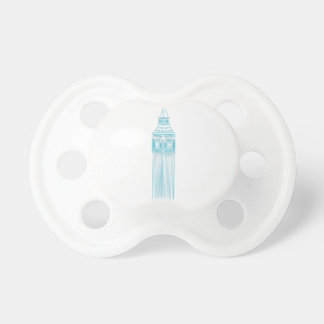 Señal de la torre de reloj de Big Ben Chupetes Para Bebes
