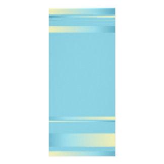 Señal de las cintas azules tarjetas publicitarias personalizadas