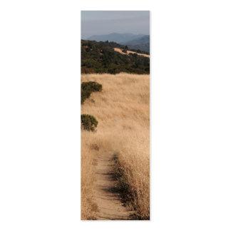 Señal de las colinas de California Tarjetas De Visita Mini