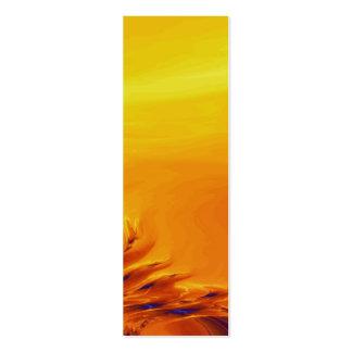 Señal de las dunas plantilla de tarjeta personal