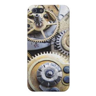 ¡Señal de los engranajes de Steampunk del reloj de iPhone 5 Carcasa