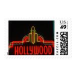Señal de neón de Hollywood, Los Ángeles, Californi