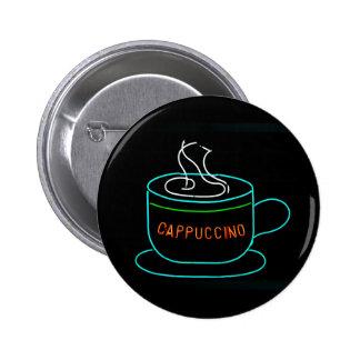 Señal de neón del Cappuccino Pins